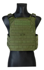 Scout plate carrier