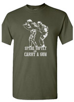 T-Shirt gray Speak Softly (female)