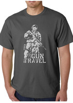 T-Shirt gray Have Gun (male)